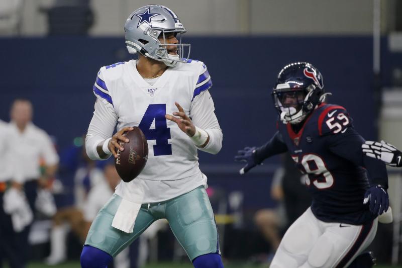 Dak Prescott, Cowboys Beat Texans in Preseason; Lamar Miller Suffers Knee Injury