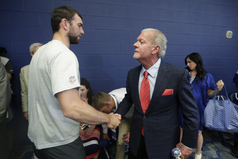 Colts Owner Jim Irsay Says Andrew Luck Is Giving Up Nearly $500M by Retiring