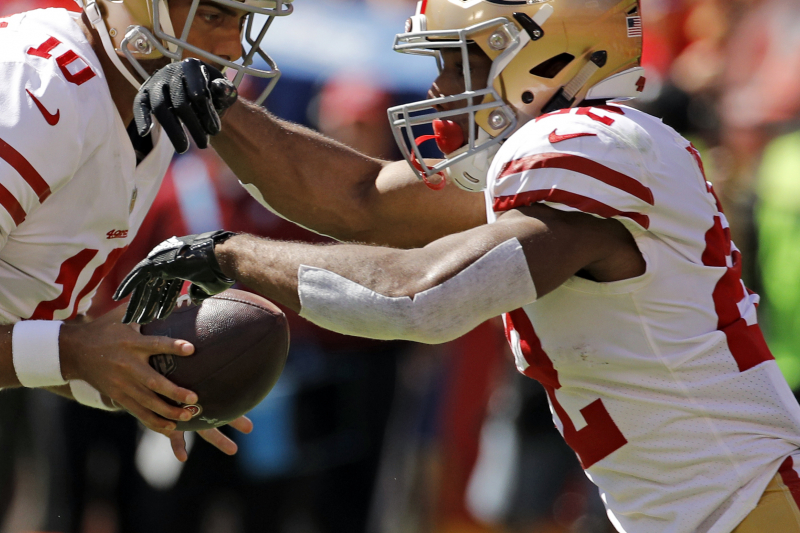 49ers' Jimmy Garoppolo, Matt Breida Fantasy Outlook After Preseason Week 3