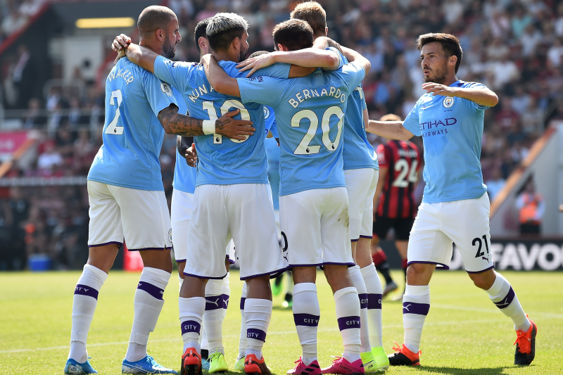 Sergio Aguero Scores 400th Career Goal, Manchester City Beat Bournemouth in EPL