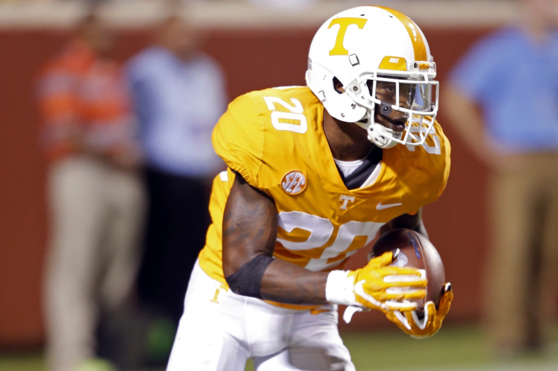 Tennessee CB Bryce Thompson Arrested on Misdemeanor Domestic Assault Charge