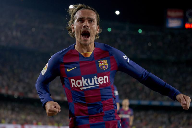 Antoine Griezmann Scores Twice in Barcelona's 5-2 La Liga Win over Real Betis