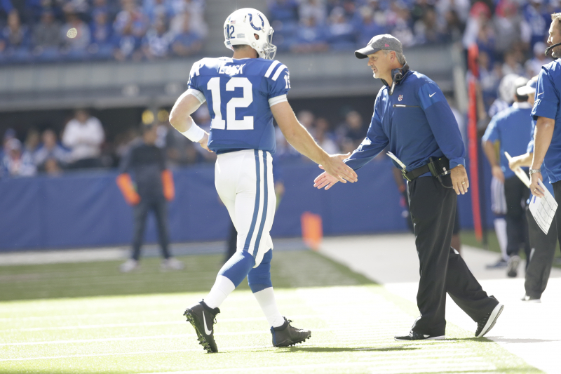 Ex-Colts HC Chuck Pagano Releases Statement on Andrew Luck's Shocking Retirement