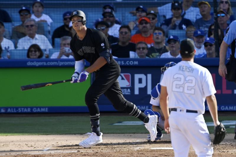 Aaron Judge Homers as Yankees Beat Clayton Kershaw, Dodgers to Earn Series Win