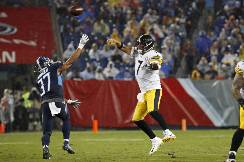 Ben Roethlisberger, Steelers Thump Marcus Mariota, Titans in Week 3 of Preseason