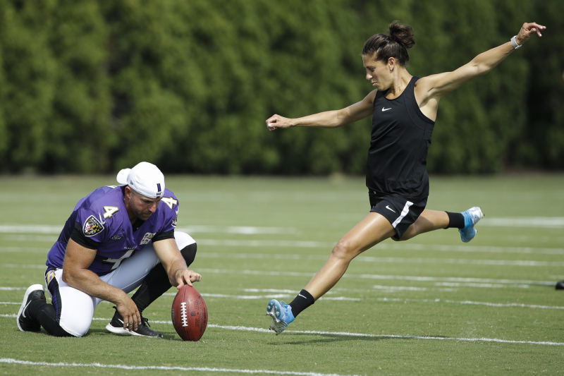 Carli Lloyd Received Offer to Kick in NFL Preseason Game After Viral Video