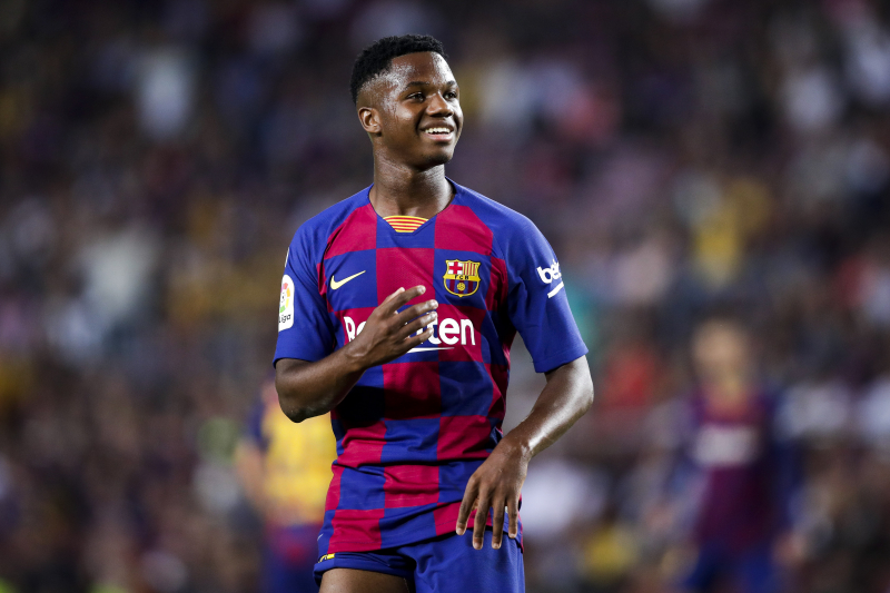 Ansu Fati's First Coach Hails Barcelona Prodigy, 'Never Seen Anything Like Him'