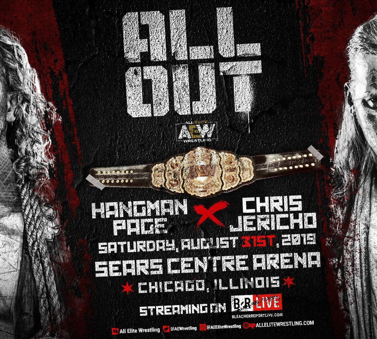 AEW All Out: Full Match Card Preview And Every Feud