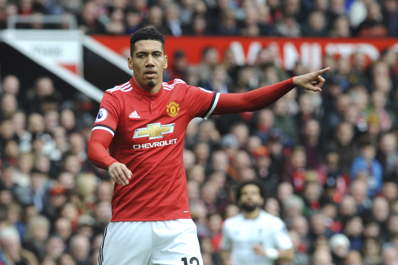 Chris Smalling Joins Roma on 1-Year Loan Contract from Manchester United