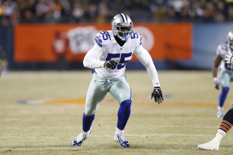 Cowboys Rumors: Rolando McClain Released After Reinstatement by NFL