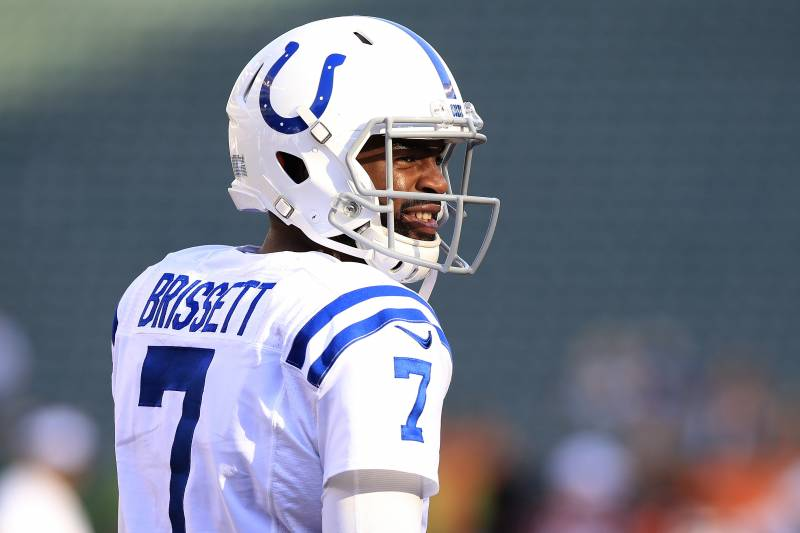 pretty nice fafc1 1d066 Jacoby Brissett, Colts Agree to Reported 2-Year, $30M ...