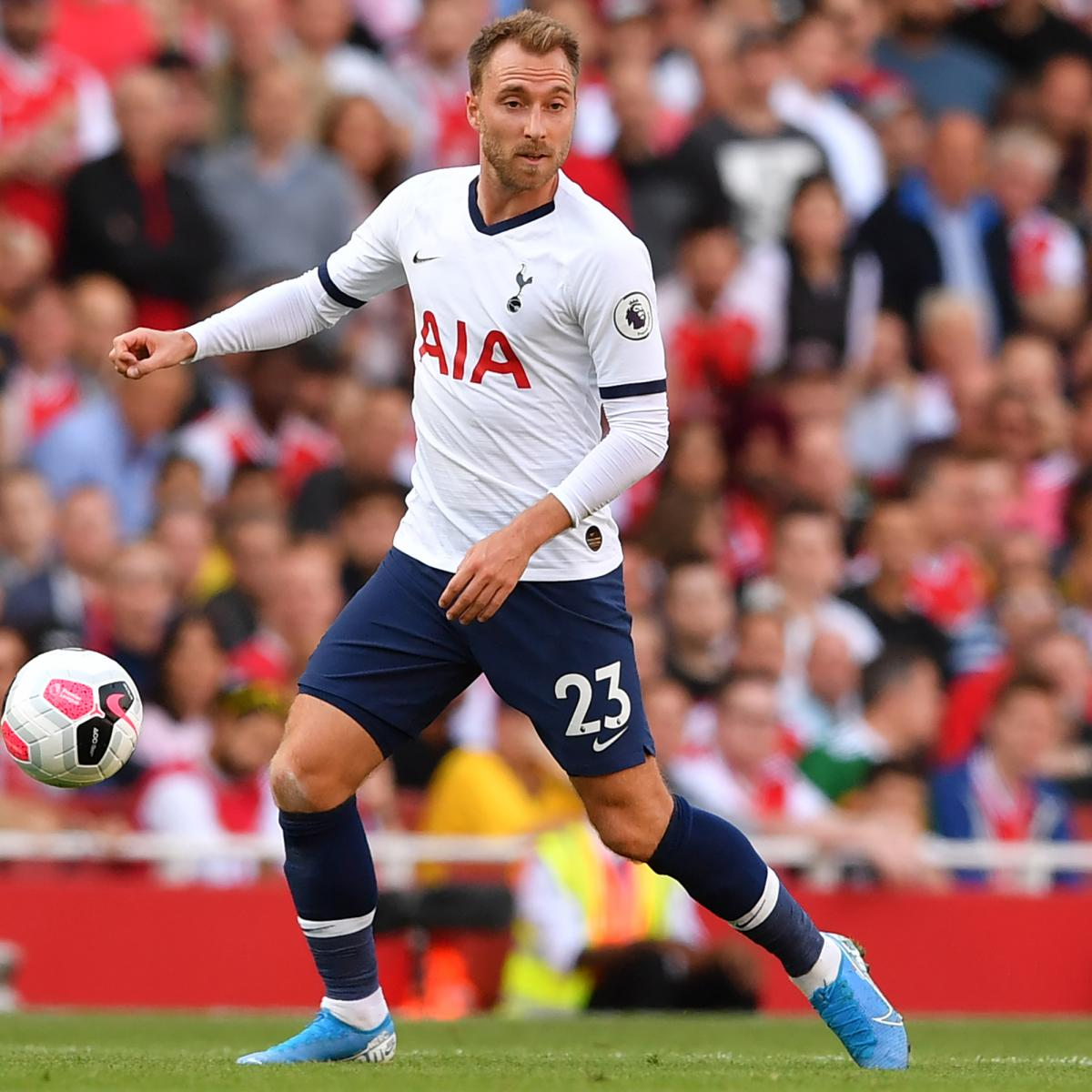 Christian Eriksen Wishes He Could Decide Spurs Future 'Like in Football Manager'