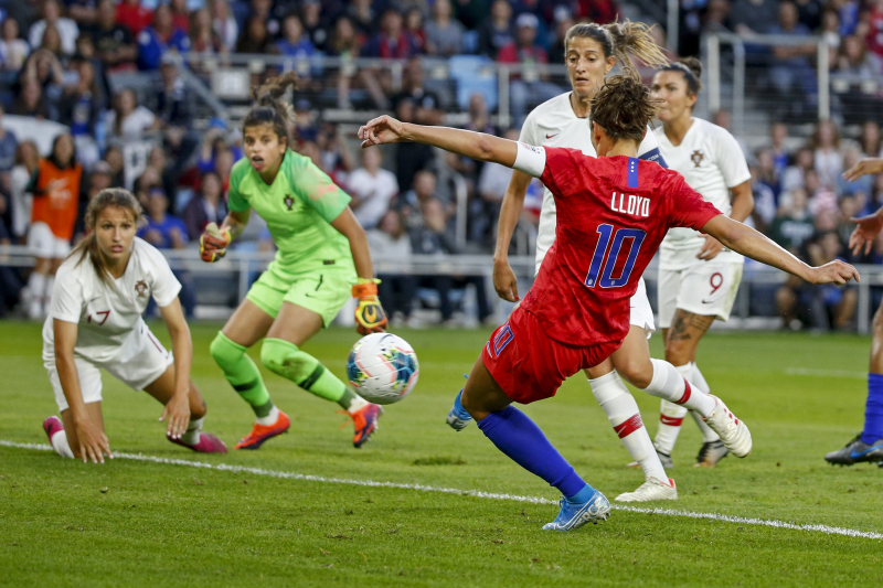 Carli Lloyd, USWNT Beat Portugal in Friendly as Jill Ellis Earns 105th Win