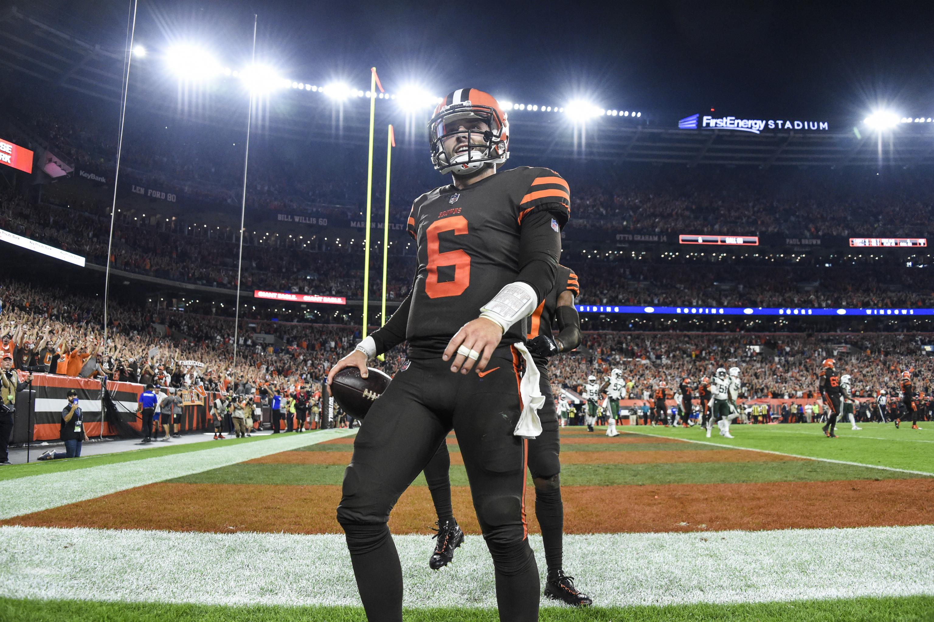 new arrival 9b3c1 459f3 Look: Browns Announce Brown Color Rush Jerseys Will Be ...