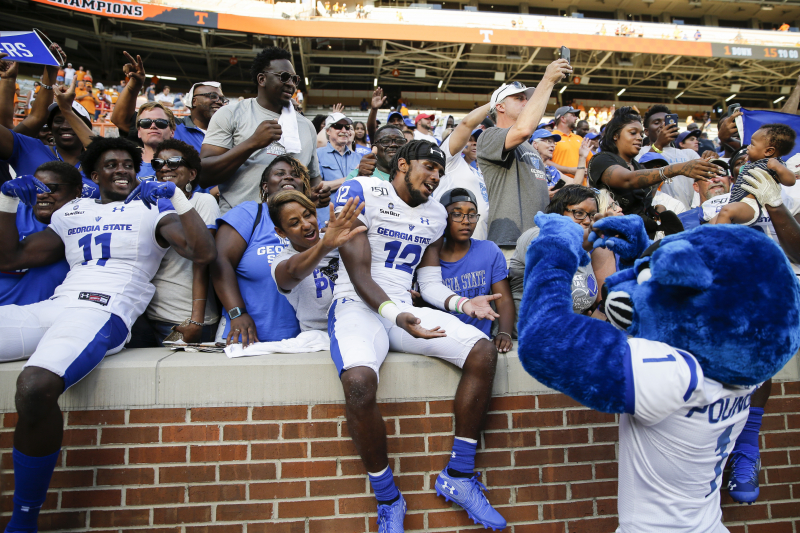Georgia State Player Says FCS' Furman Will Be 'Tougher Battle' Than Tennessee
