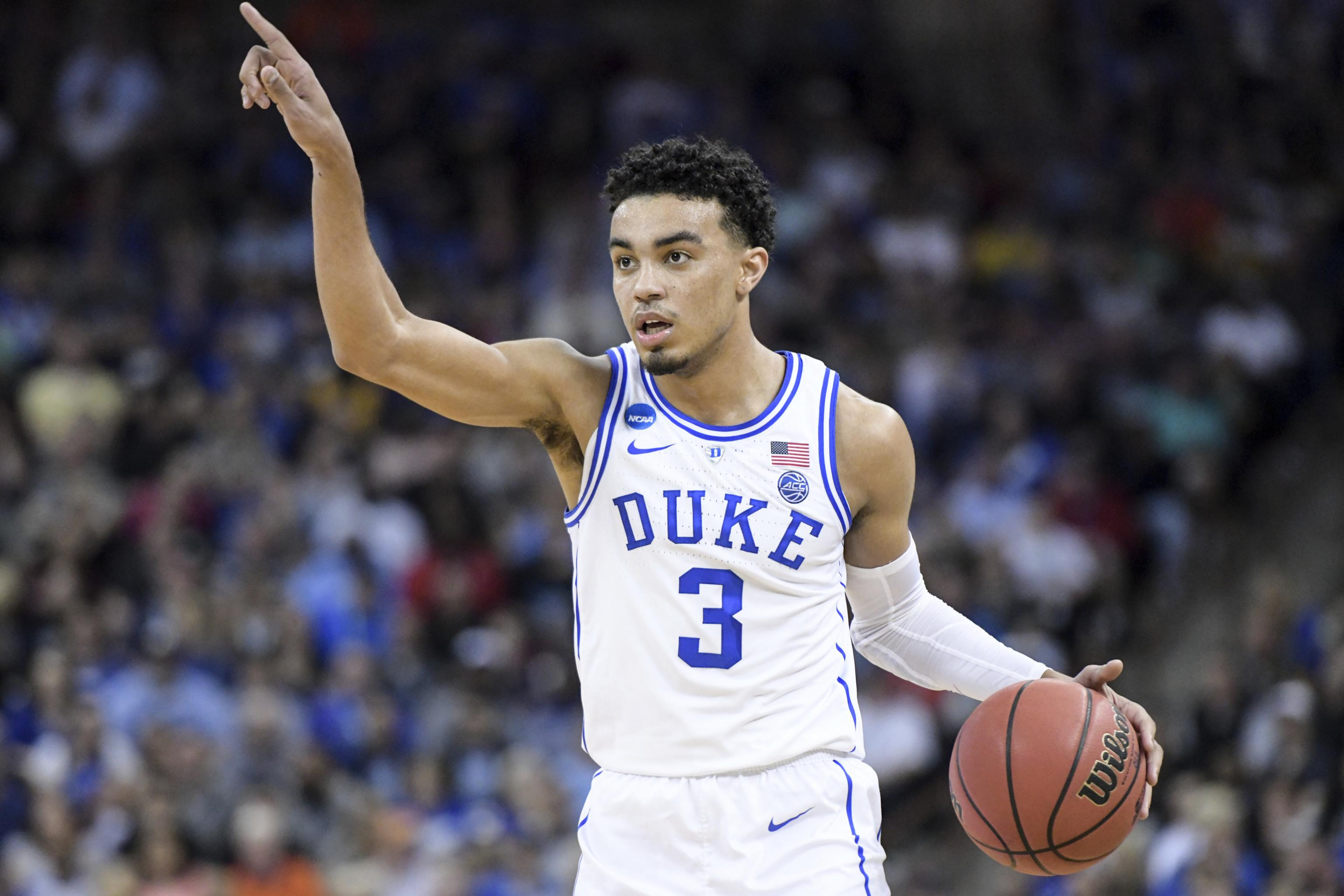 Duke's Tre Jones Out vs. Wofford with 'Minor' Foot Injury ...