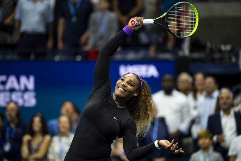 Image result for serena vs elina us open