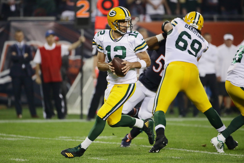 Aaron Rodgers, Packers Beat Bears as Mitchell Trubisky Hears Boos in 2019 Opener