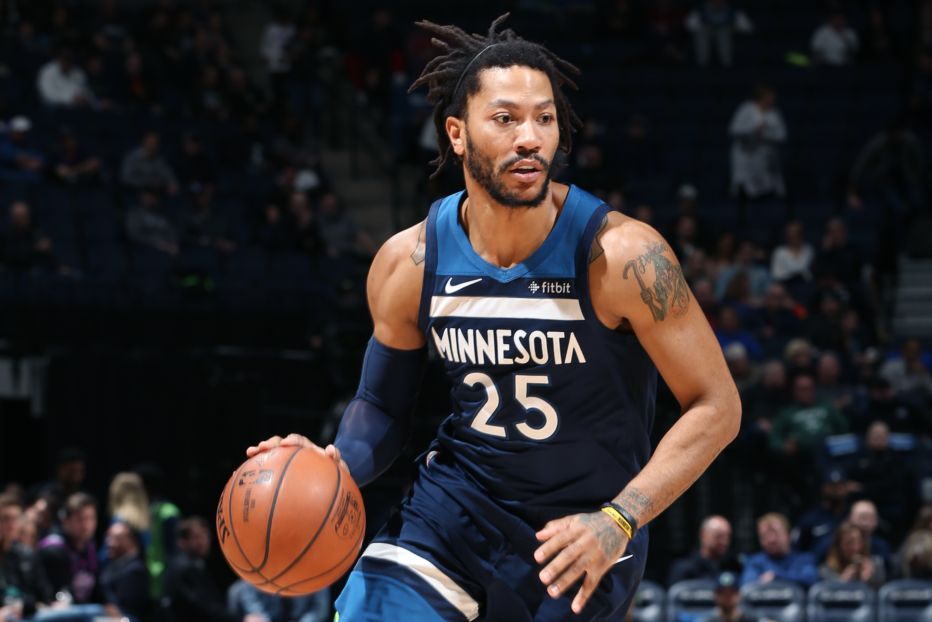 the latest 53f2f 3914c Derrick Rose: 'I'm a Hall of Famer' in Friends' Eyes; 'I ...
