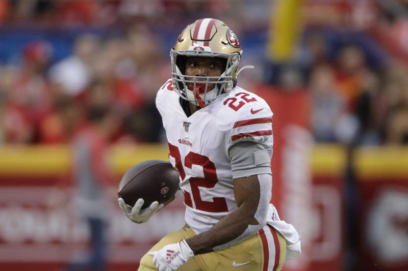 newest 98abd 17142 Matt Breida's Updated Fantasy Outlook After Tevin Coleman's ...