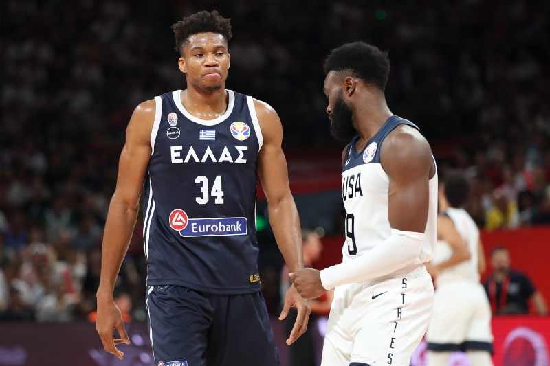Team USA Details Skirmish with Giannis, Thanasis Antetokounmpo After Greece Win