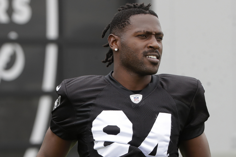 Antonio Brown Agrees to 1-Year, $15M Patriots Contract After Raiders Release