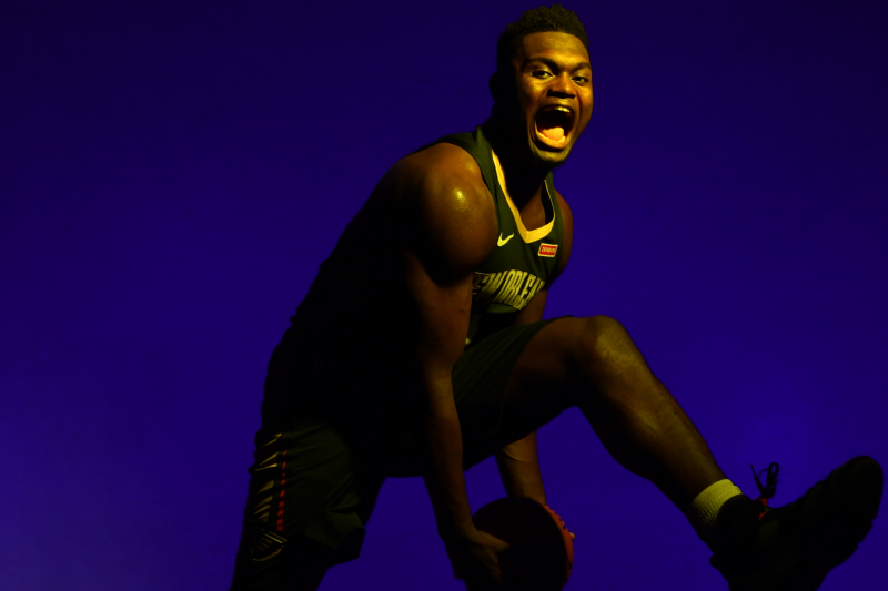 Look: Pelicans' Zion Williamson Unveils Air Jordan 34 Sneaker at Event in Harlem