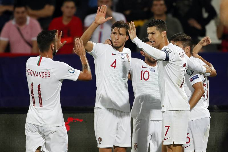 Portugal World Cup Squad 2020.Lithuania Vs Portugal Euro 2020 Qualifying Odds Live