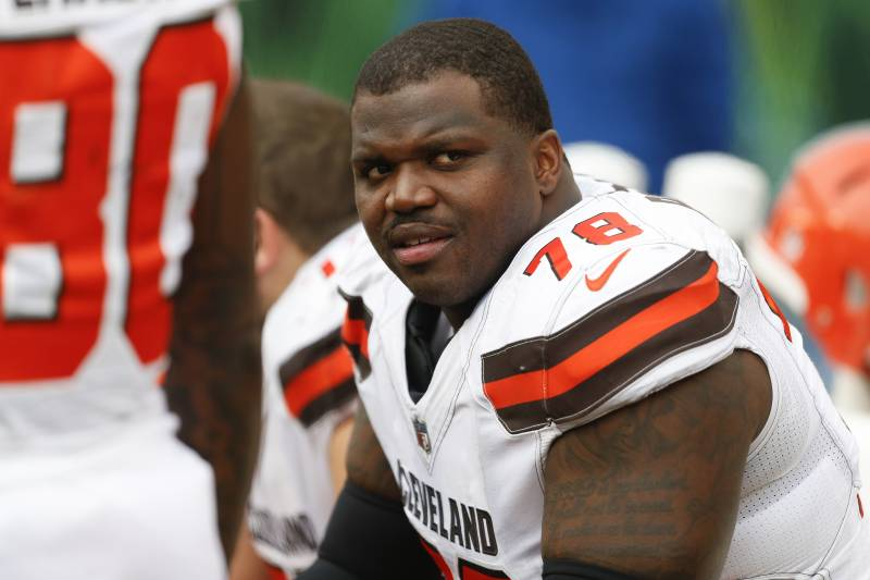 Browns' Greg Robinson Ejected vs  Titans After Kicking Kenny