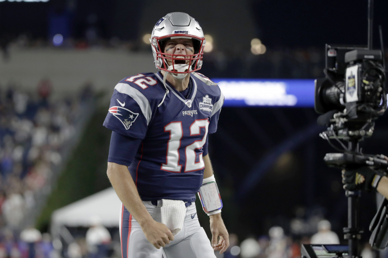 Tom Brady Throws 3 TDs as Patriots Destroy Ben Roethlisberger, Steelers on 'SNF'