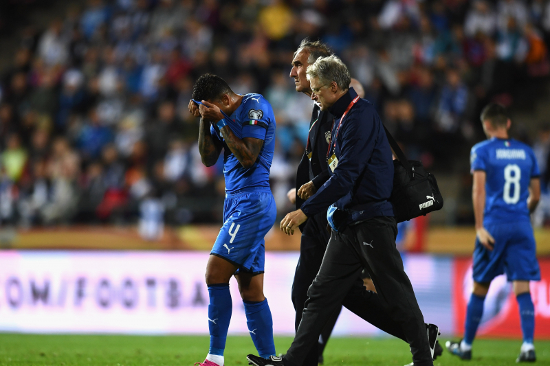 Emerson Palmieri Injury 'Nothing Serious,' Says Italy Manager Roberto Mancini