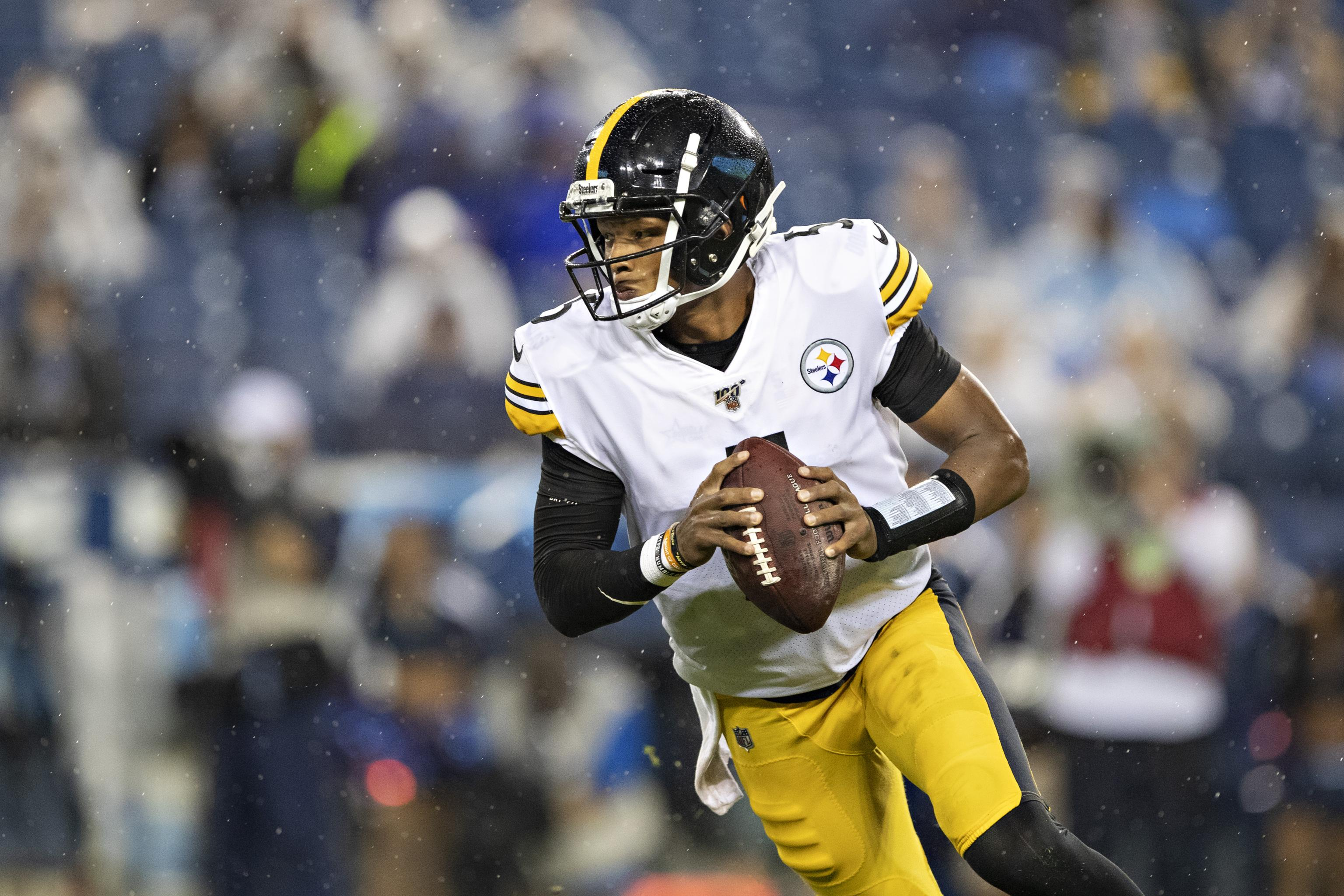 save off 70ea2 43792 Josh Dobbs Traded to Jaguars from Steelers for After Nick ...