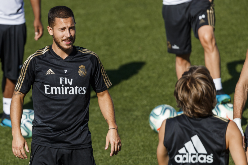 Eden Hazard Back in Real Madrid Training Ahead of Possible Debut vs. Levante