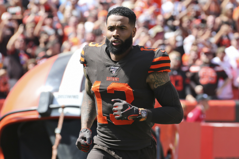 Browns' Odell Beckham Jr. Says He Plans to Keep Wearing $190K Watch in Games