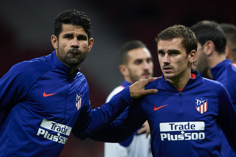 Diego Costa: Antoine Griezmann's Decision to Leave Atletico Madrid 'Was Normal'