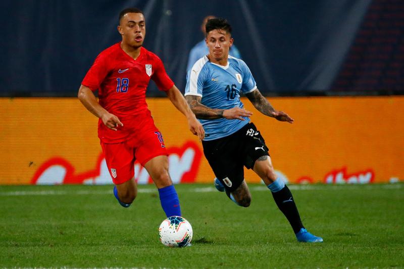 Jordan Morris' Late Goal Gives USA Draw in Friendly vs. Uruguay
