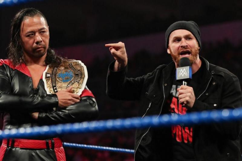 Sami Zayn Has Turned Into Shinsuke Nakamura's WWE Savior