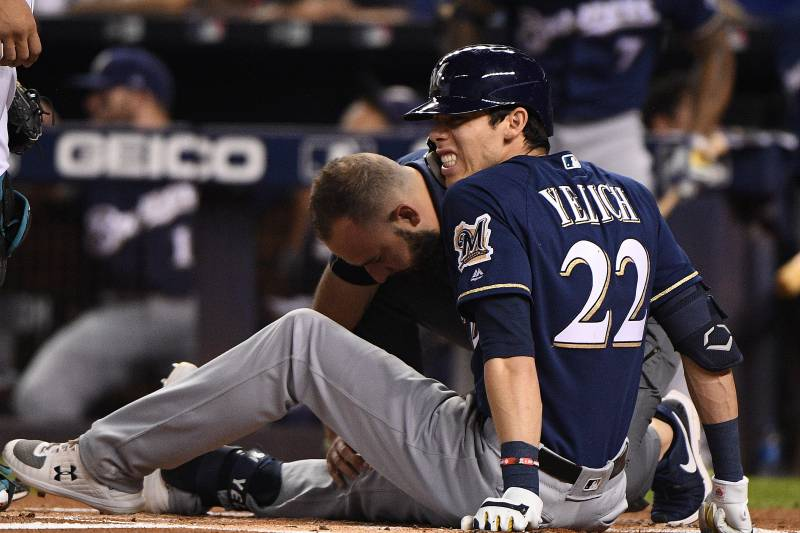 Christian Yelich's Injury Sets Up Wild Finish for NL Wild