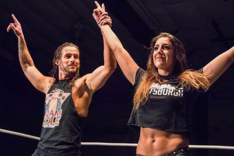 Britt Baker and Adam Cole: A House Divided Ahead of the 'Wednesday Night Wars'