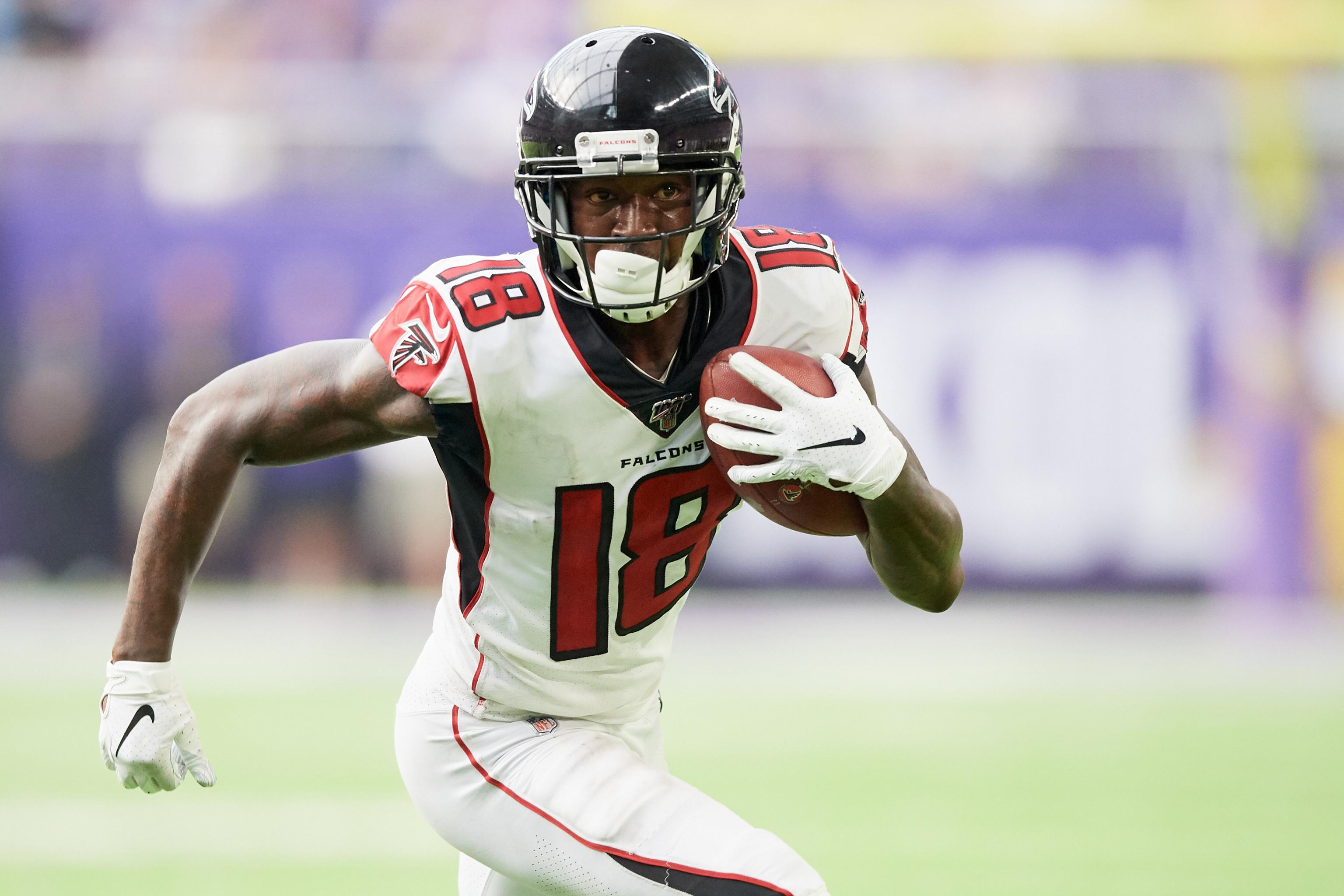 Falcons Calvin Ridley Out Vs Panthers With Abdominal Injury Scored Td In Game Bleacher Report Latest News Videos And Highlights