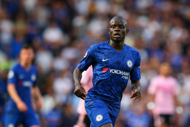 Report: Eden Hazard, Thibaut Courtois Want Chelsea's N'Golo Kante at Real Madrid