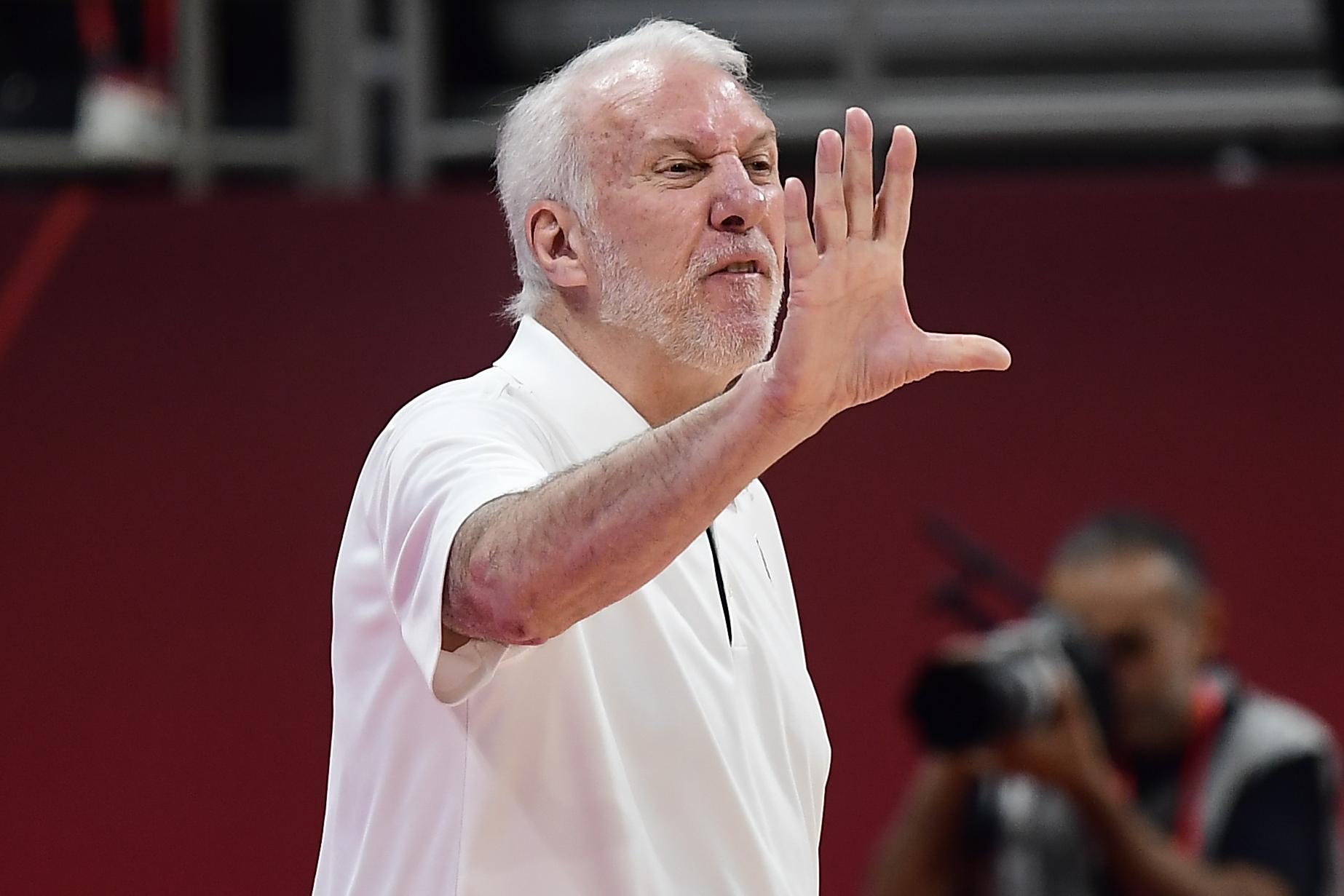 Gregg Popovich Says Criticizing Team USA's FIBA Performance 'Immature, Arrogant'