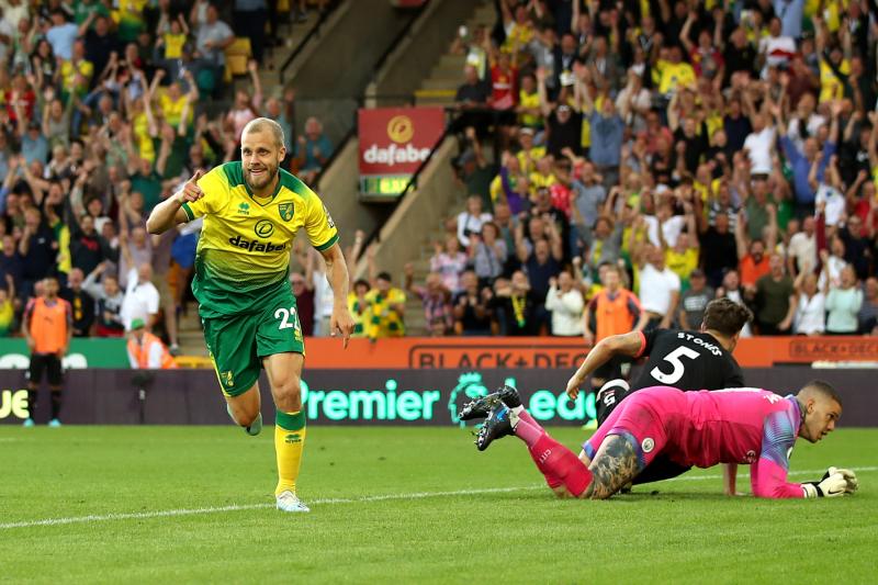 Teemu Pukki, Norwich City Top Sergio Aguero, Manchester City in Stunning Upset