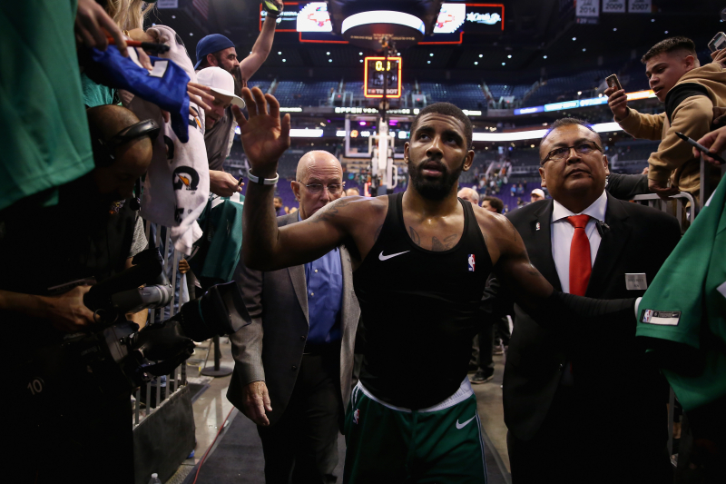 Nets Will Give Away 10,000 Kyrie Irving Jerseys at 2nd Game of Season vs. Knicks