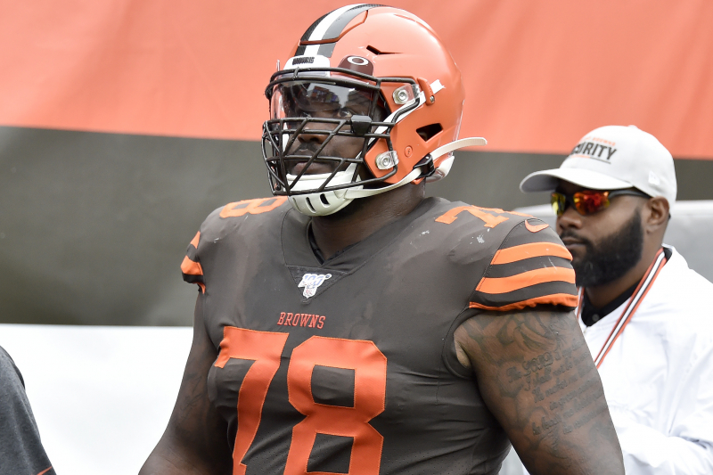 Browns LT Greg Robinson Fined $10,527 for Kicking Titans' Kenny Vaccaro