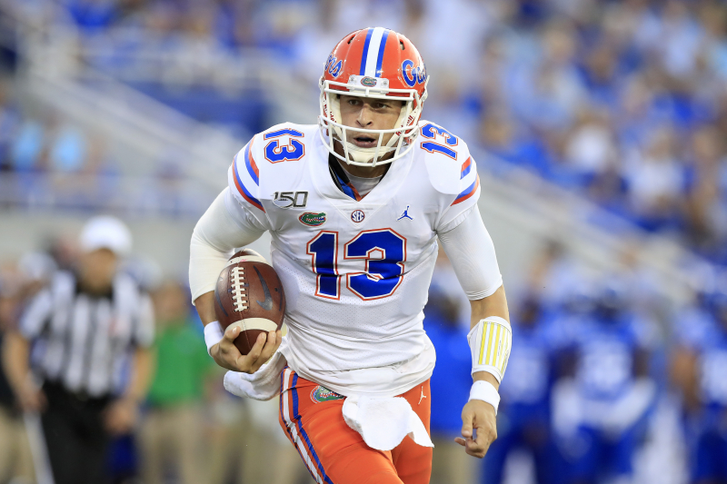 Florida QB Feleipe Franks Likely Out for Season with Dislocated Ankle Injury