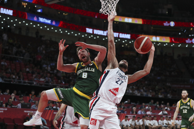 Evan Fournier, France Beat Australia 67-59 in 2019 FIBA World Cup 3rd-Place Game