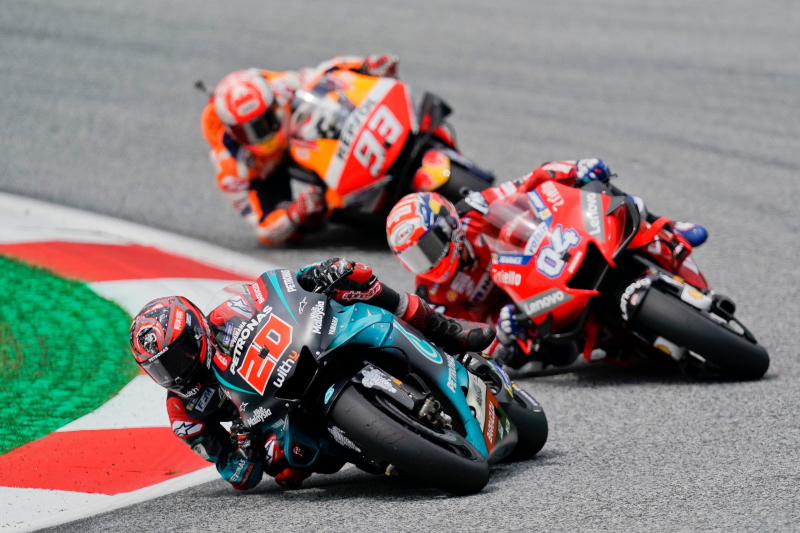MotoGP Grand Prix of San Marino 2019 Results: Marc Marquez Wins on Final Lap