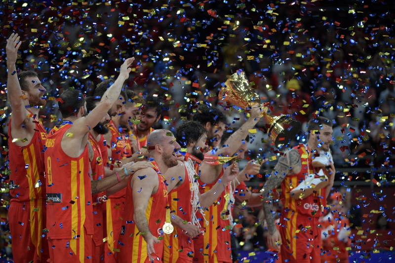 FIBA World Cup 2019 Trophy: Spain Celebration Highlights, Reaction