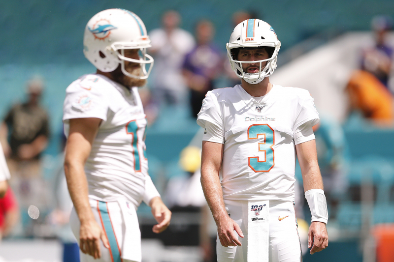 Dolphins to Consider Starting Josh Rosen After Blowout Loss vs. Patriots
